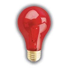 halloween light bulbs home view cart 100a19trans red pet nite brite e26 base - Halloween Light Bulbs